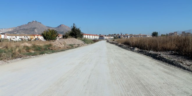ATARFE: Arreglo del camino de la Viñuela para recuperar el entorno rural de la Vega