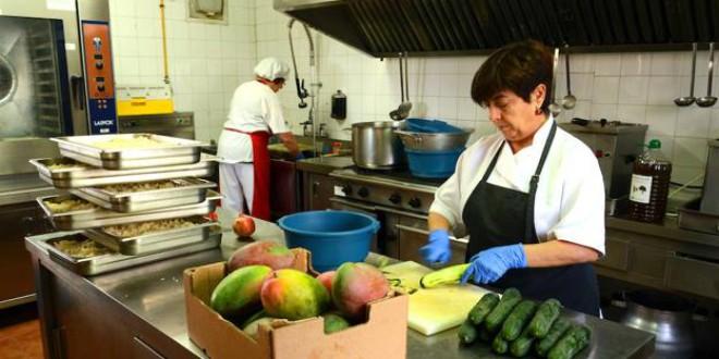El comedor escolar más sano de Andalucía está en Granada