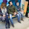 'Despatarre' en el metro