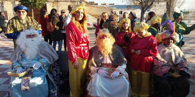 Cortejo de la cabalgata de los Reyes Magos de Atarfe