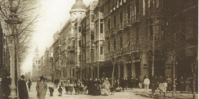 Los diez edificios originales derribados en la Gran Vía de Colón
