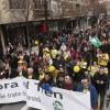 Más de 160.000 personas salieron a las calles a manifestarse en 2017 en Granada