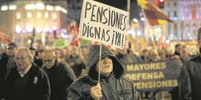 «El día de los pensionistas » por Pepa Bueno