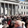 """La llamada de los pensionistas contra el """"pasotismo"""" de los jóvenes"""
