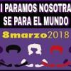 MANIFIESTO DE LA PLATAFORMA 8M DE GRANADA
