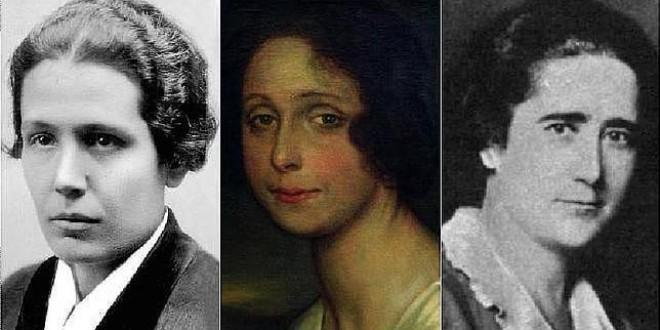 Las tres primeras diputadas de la historia de España