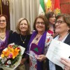La Plataforma 8 de marzo recibe el premio Mariana Pineda a la igualdad