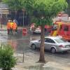La lluvia PROVOCA inundaciones de calles y viviendas en Atarfe