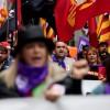 Miles de personas reivindican salarios dignos y denuncian retrocesos sociales