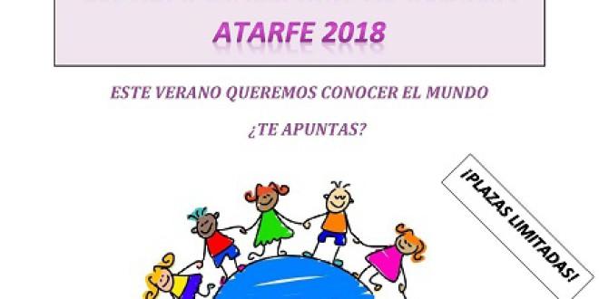 ATARFE: El Ayuntamiento abre el periodo de matriculación en la Escuela Municipal de Verano