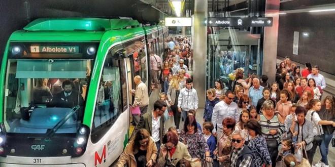 El Metro de Granada, único de Andalucía que tendrá transbordos gratis con el autobús en todo su trazado