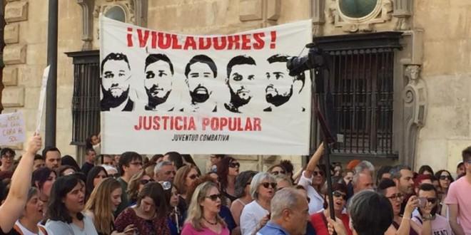 El movimiento feminista sigue en lucha y critica la Justicia patriarcal