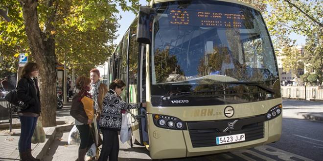 Una app gratuita concentra todo el transporte público de Granada para planificar recorridos
