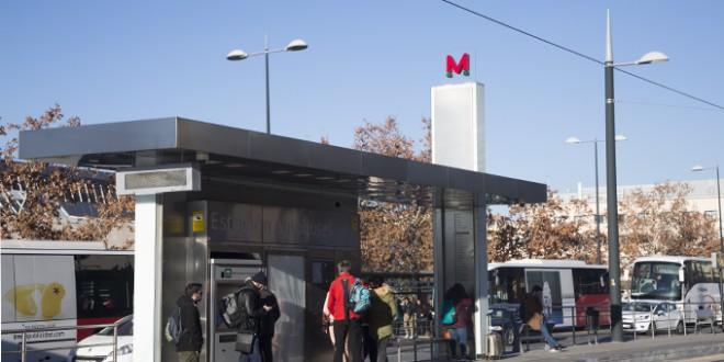 A partir del 15 de julio los transbordos entre el metro y autobuses urbanos serán gratuitos