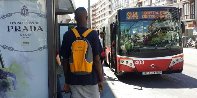 Mañana se pone en funcionamiento el nuevo mapa del bus urbano de GRANADA