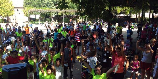 ATARFE: EXITO DEL «DIA DE LA BICICLETA»