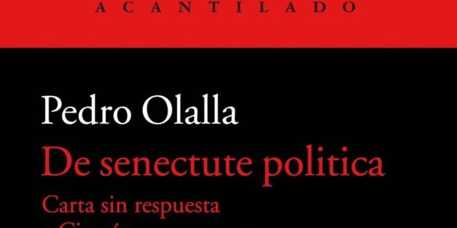 «Una epístola actual a Cicerón» por Alberto Granados