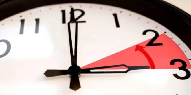 ¿Cuándo es el cambio de hora?