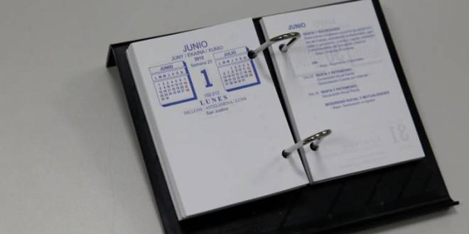 El calendario laboral de 2019 tendrá 8 festivos, con dos puentes nacionales