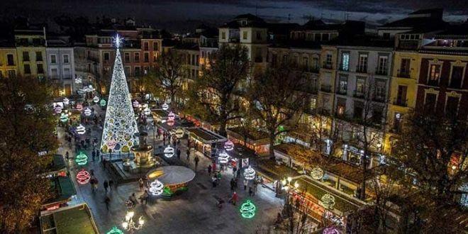 El encendido del alumbrado navideño de la capital se adelanta a este viernes, 30 de noviembre