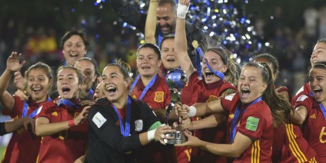 España conquista el Mundial Sub'17 tras vencer a México en la final