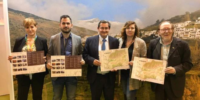 La Alpujarra presenta su nuevo mapa turístico