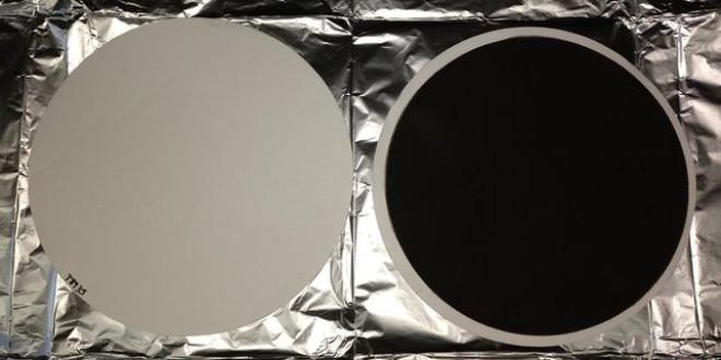 Este es el color de un filtro después de aspirar 24 horas el aire de Granada