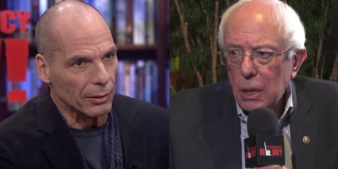 Nace la Internacional Progresista liderada por Bernie Sanders y Yanis Varoufakis