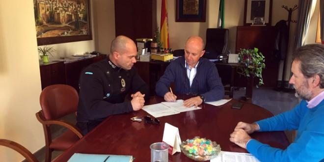 Un nuevo agente se incorpora a la Policía Local de Atarfe en comisión de servicios, el tercero en el último año