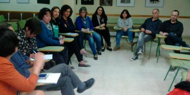 «Reunión de padres (y sobre todo madres)» por Jordi Èvole