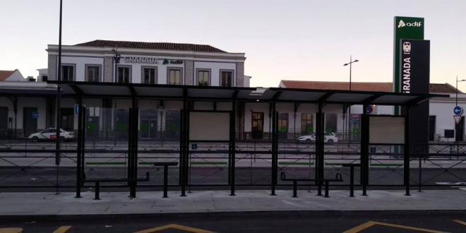 CAMBIO DE PARADAS DE AUTOBUSES EN GRANADA