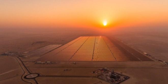 Egipto inaugura la mayor planta solar del mundo