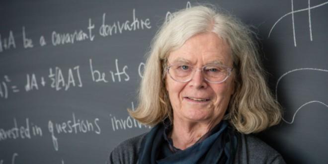 Karen Uhlenbeck se convierte en la primera mujer en recibir el 'Nobel' de Matemáticas