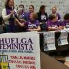 Las asociaciones feministas critican la falta de apoyo de la Junta para el 8M