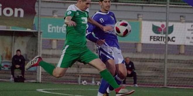 El Atarfe se le escapa la victoria al final, 2-2