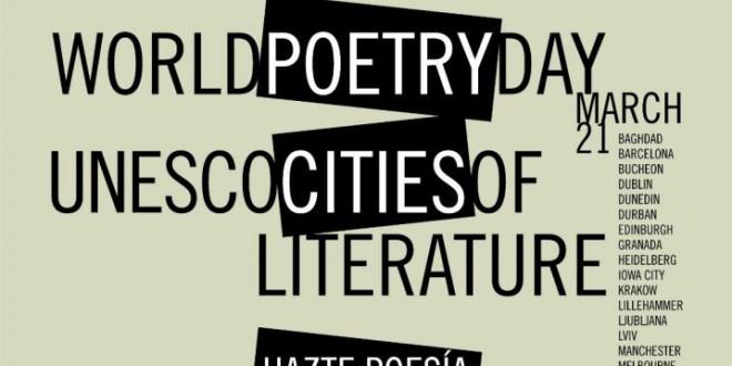 Llega el Día Mundial de la Poesía