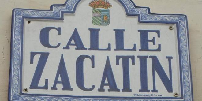 ATARFE: CALLE ZACATÍN Y SUS PESETAS