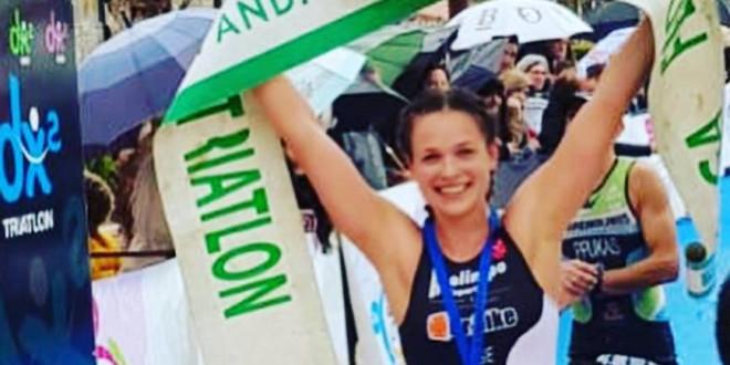 Angie Avila Alche opina sobre el Triatlón Olímpico Torre del Mar