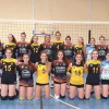 El equipo de voleibol de ATARFE:SUBCAMPEONAS de la Primera División Andaluza.