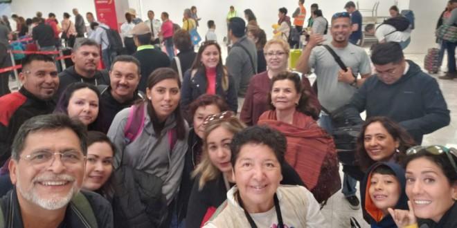 ATARFE, VISITA DE DOCENTES DE MÉXICO (Baja California Sur y de Ciudad de México)