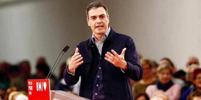 Pedro Sánchez se compromete a blindar las pensiones en la Constitución