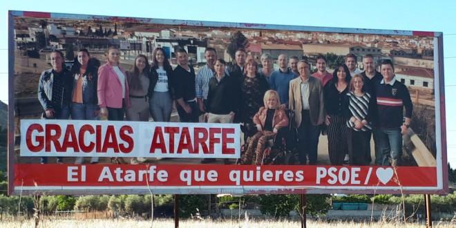 LA SECRETARIA GENERAL DEL PSOE DE ATARFE AGRADECE LA PARTICIPACIÓN Y RESULTADOS OBTENIDOS POR EL PSOE