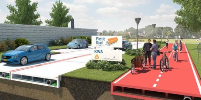 Holanda: Construirán carreteras con plástico recogido del mar