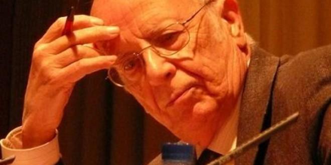 """Emilio Lledó: """"La educación debe ser pública y laica"""""""