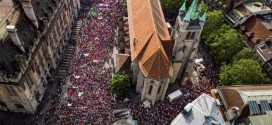 Enorme huelga de mujeres en Suiza por los derechos de todas