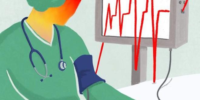 Casi el 40% del personal de enfermería tiene el 'síndrome del trabajador quemado', según un estudio de la UGR