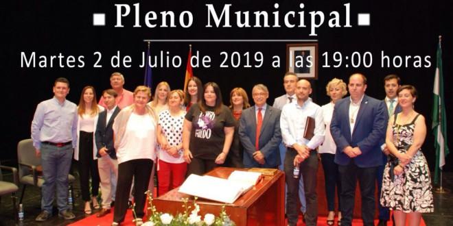 ATARFE: HOY SESION DE PLENO EXTRAORDINARIO