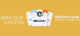 ¿Sabías que existen distintos tipos de cifrado para proteger la privacidad de nuestra información en Internet?