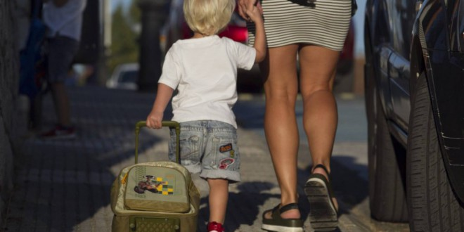 Caminar a clase un kilómetro ida y vuelta supone más del 60% del ejercicio recomendado a los niños