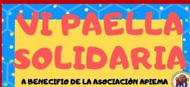 ATARFE:VI PAELLA SOLIDARIA A BENEFICIO DE LA ASOCIACIÓN APIEMA